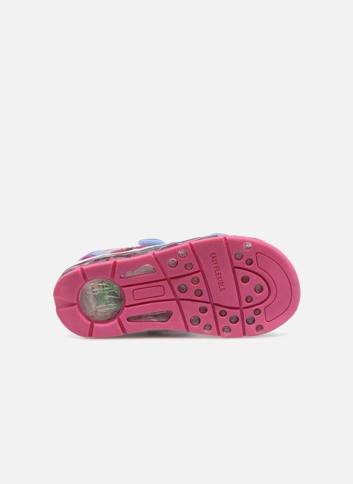 Sandales et nu-pieds Frozen Yasmine Bleu vue haut