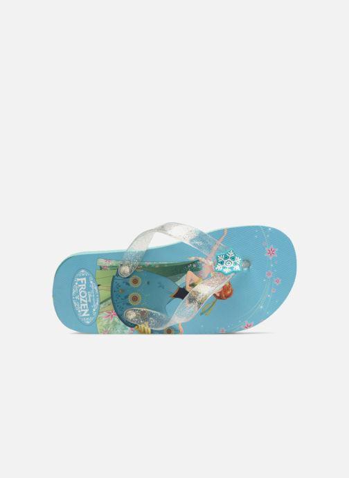 Slippers Frozen Rosazia Blauw links
