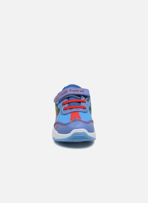 Baskets Pat Patrouille Noe Bleu vue portées chaussures