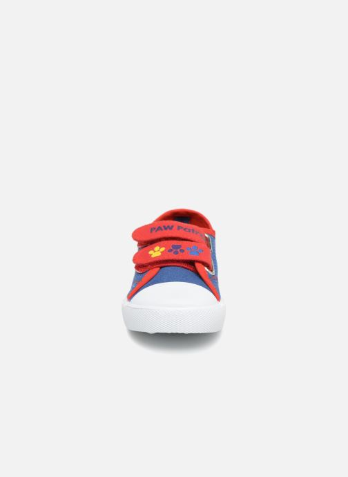Baskets Pat Patrouille Songeur Bleu vue portées chaussures
