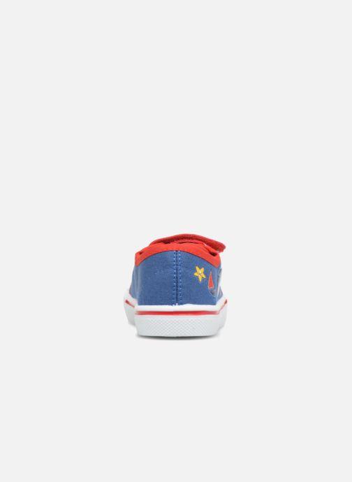 Baskets Pat Patrouille Songeur Bleu vue droite