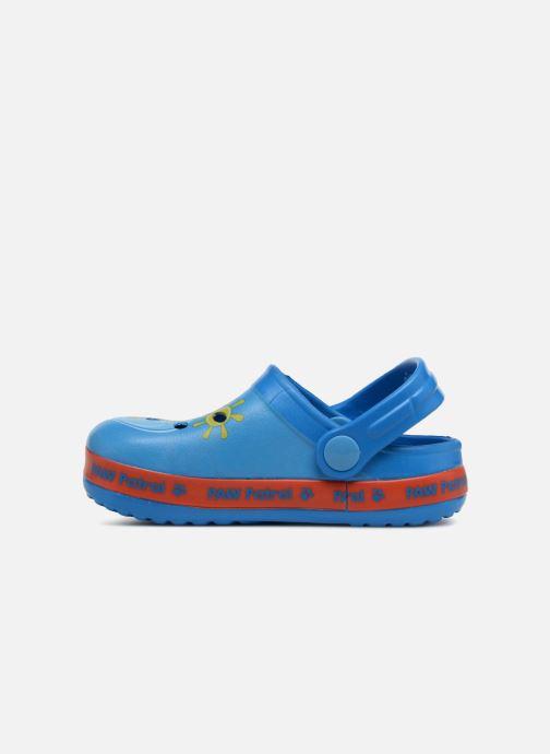 Sandales et nu-pieds Pat Patrouille Diplôme Bleu vue face