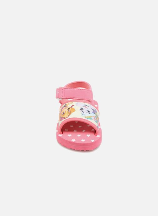 Sandales et nu-pieds Pat Patrouille Tarot Rose vue portées chaussures