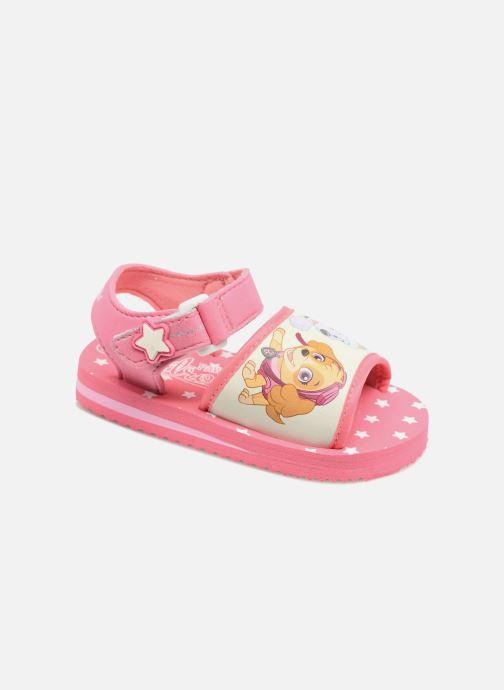 Sandales et nu-pieds Pat Patrouille Tarot Rose vue détail/paire