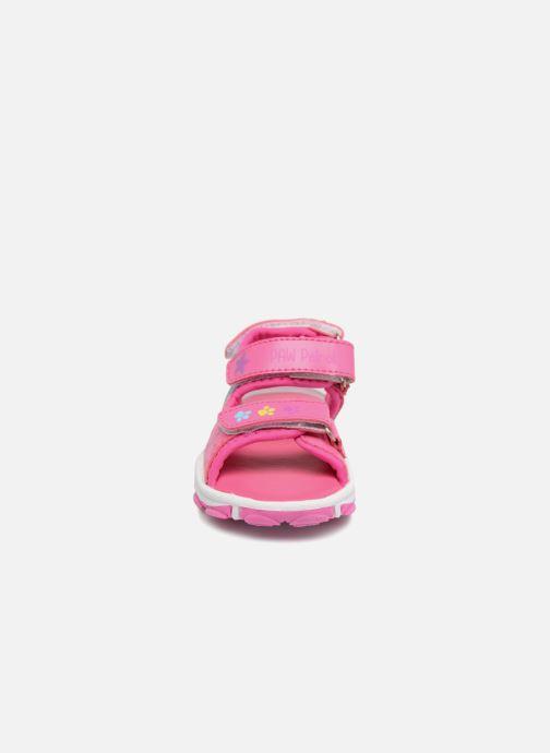 Sandali e scarpe aperte Pat Patrouille Ginger Rosa modello indossato