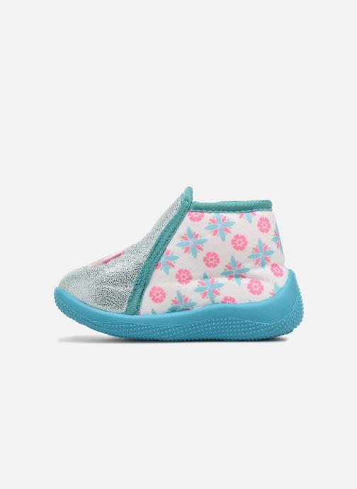 Pantofole Vaiana Sampa Azzurro immagine frontale