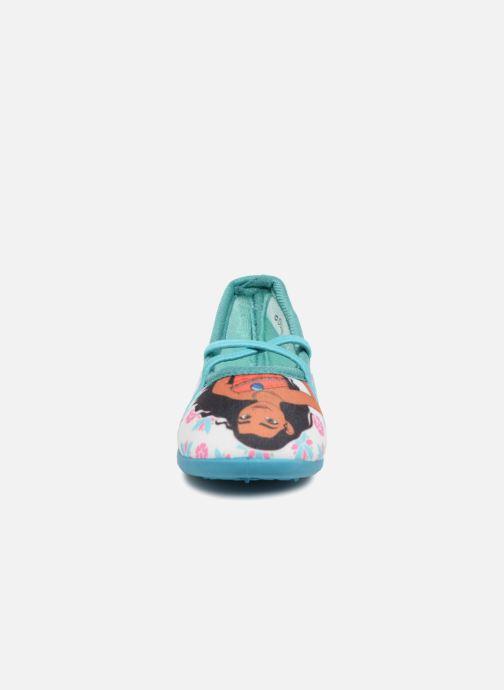 Pantofole Vaiana Senorita Azzurro modello indossato