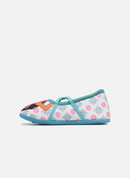 Pantofole Vaiana Senorita Azzurro immagine frontale