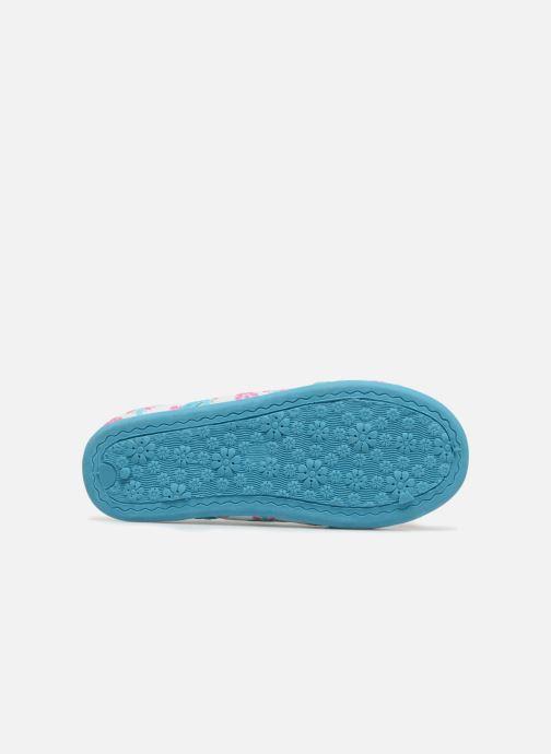 Pantofole Vaiana Senorita Azzurro immagine dall'alto