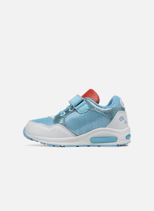 Sneakers Vaiana Suede Azzurro immagine frontale