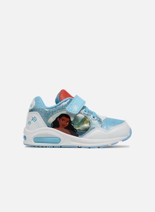 Sneakers Vaiana Suede Azzurro immagine posteriore