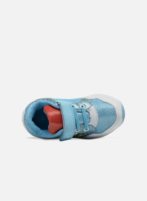 Sneakers Vaiana Suede Azzurro immagine sinistra