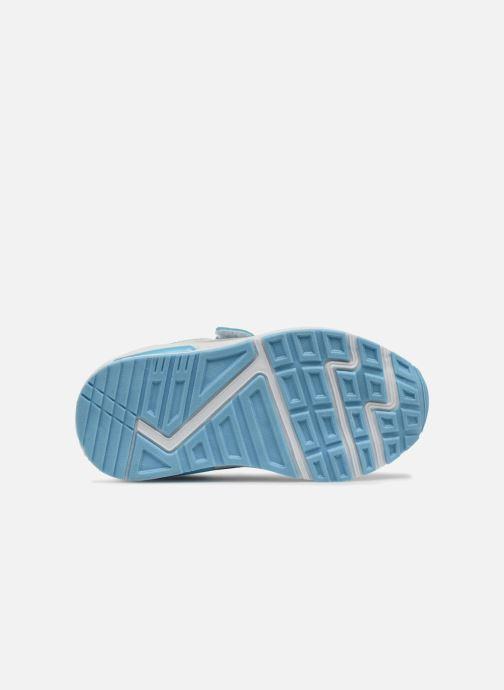 Sneakers Vaiana Suede Azzurro immagine dall'alto