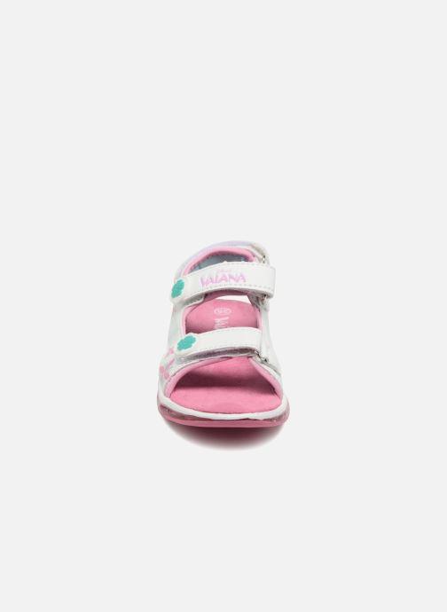 Sandales et nu-pieds Vaiana Yaka Blanc vue portées chaussures