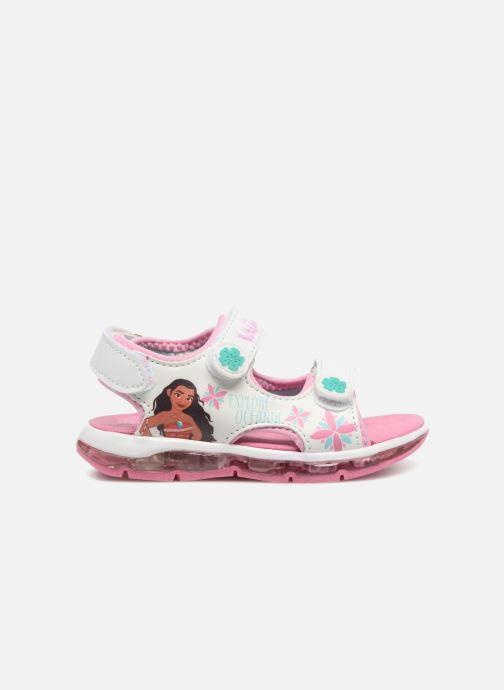 Sandales et nu-pieds Vaiana Yaka Blanc vue derrière