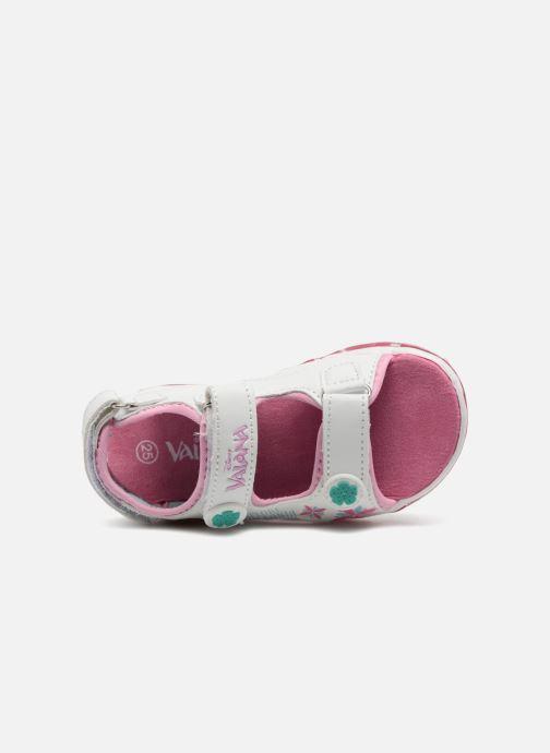 Sandales et nu-pieds Vaiana Yaka Blanc vue gauche