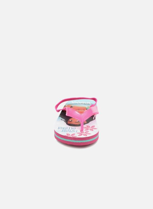Flip flops Vaiana Didia Pink model view