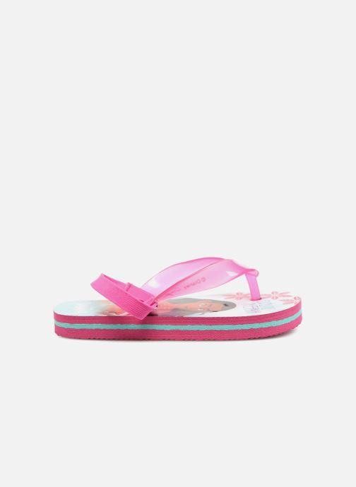 Flip flops Vaiana Didia Pink back view