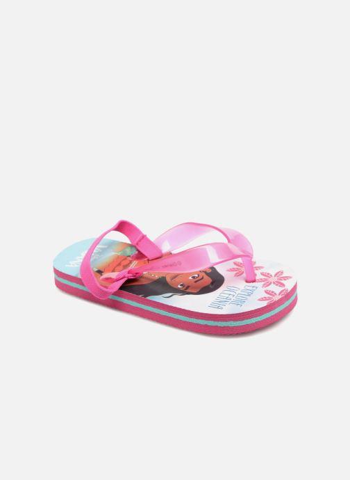 Flip flops Vaiana Didia Pink detailed view/ Pair view