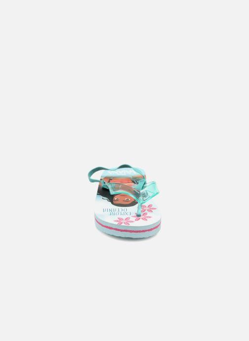 Tongs Vaiana Didia Bleu vue portées chaussures