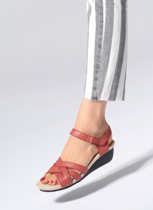 Sandaler TBS Easy Walk Macinah Rød se forneden