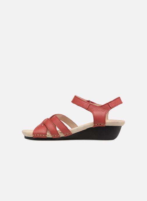 Sandaler TBS Easy Walk Macinah Rød se forfra