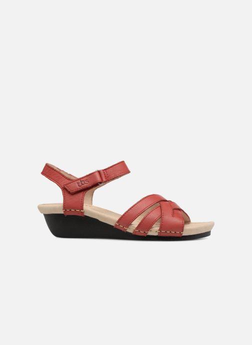 Sandaler TBS Easy Walk Macinah Rød se bagfra