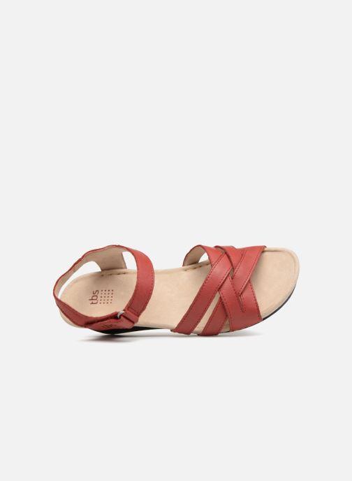 Sandaler TBS Easy Walk Macinah Rød se fra venstre