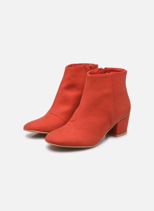 Bottines et boots Good Guys Noah Rouge vue bas / vue portée sac