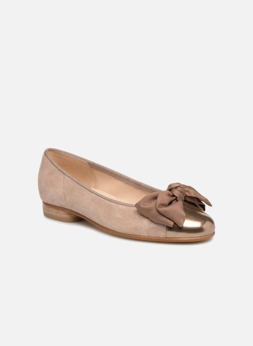 Ballerinaer Gabor Abby Pink detaljeret billede af skoene