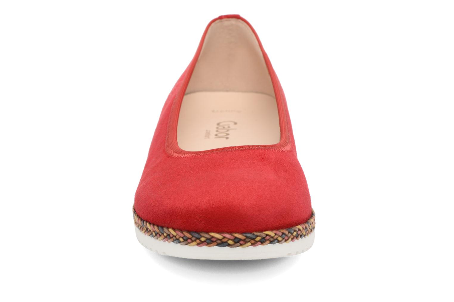 Ballet pumps Gabor Catania Red model view