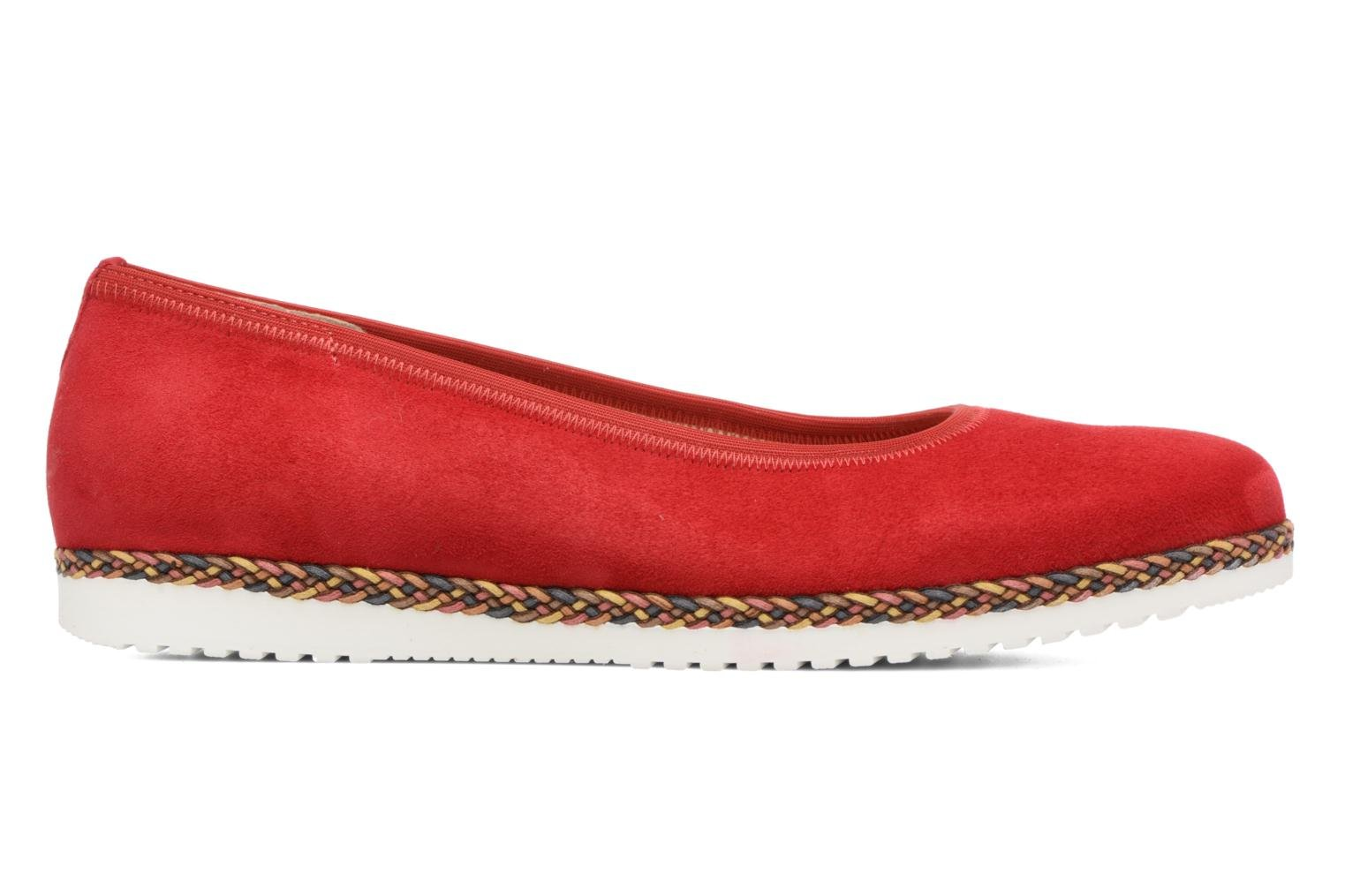 Ballet pumps Gabor Catania Red back view