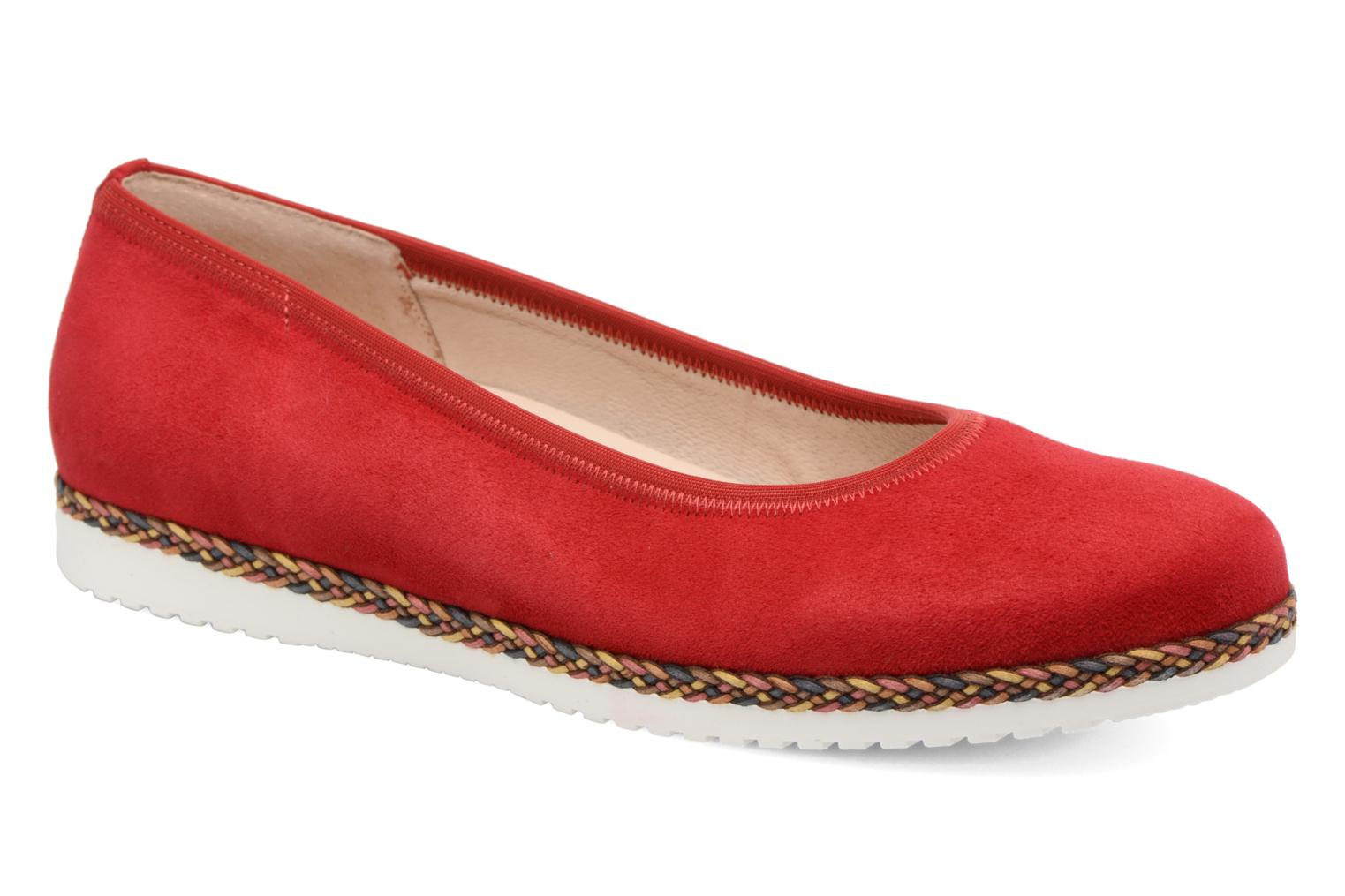 Ballet pumps Gabor Catania Red detailed view/ Pair view