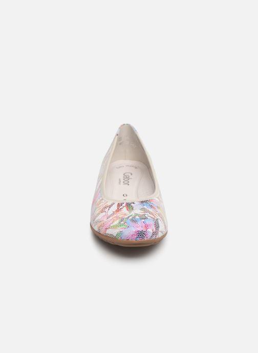 Ballerines Gabor Barletta Multicolore vue portées chaussures