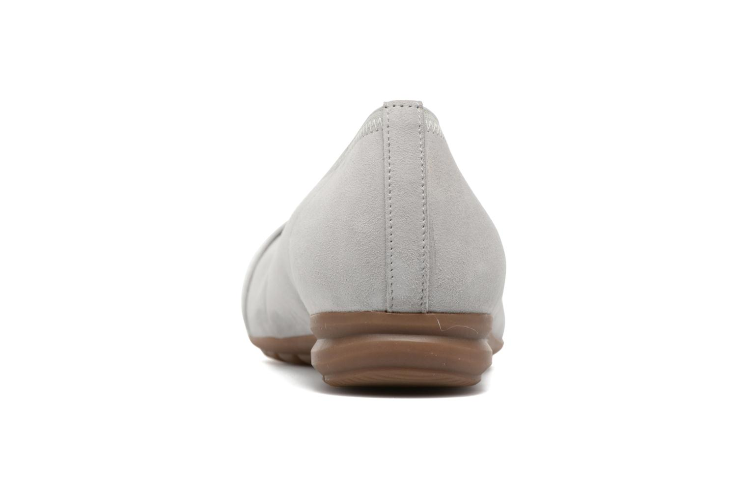 Ballet pumps Gabor Cesena Grey view from the right