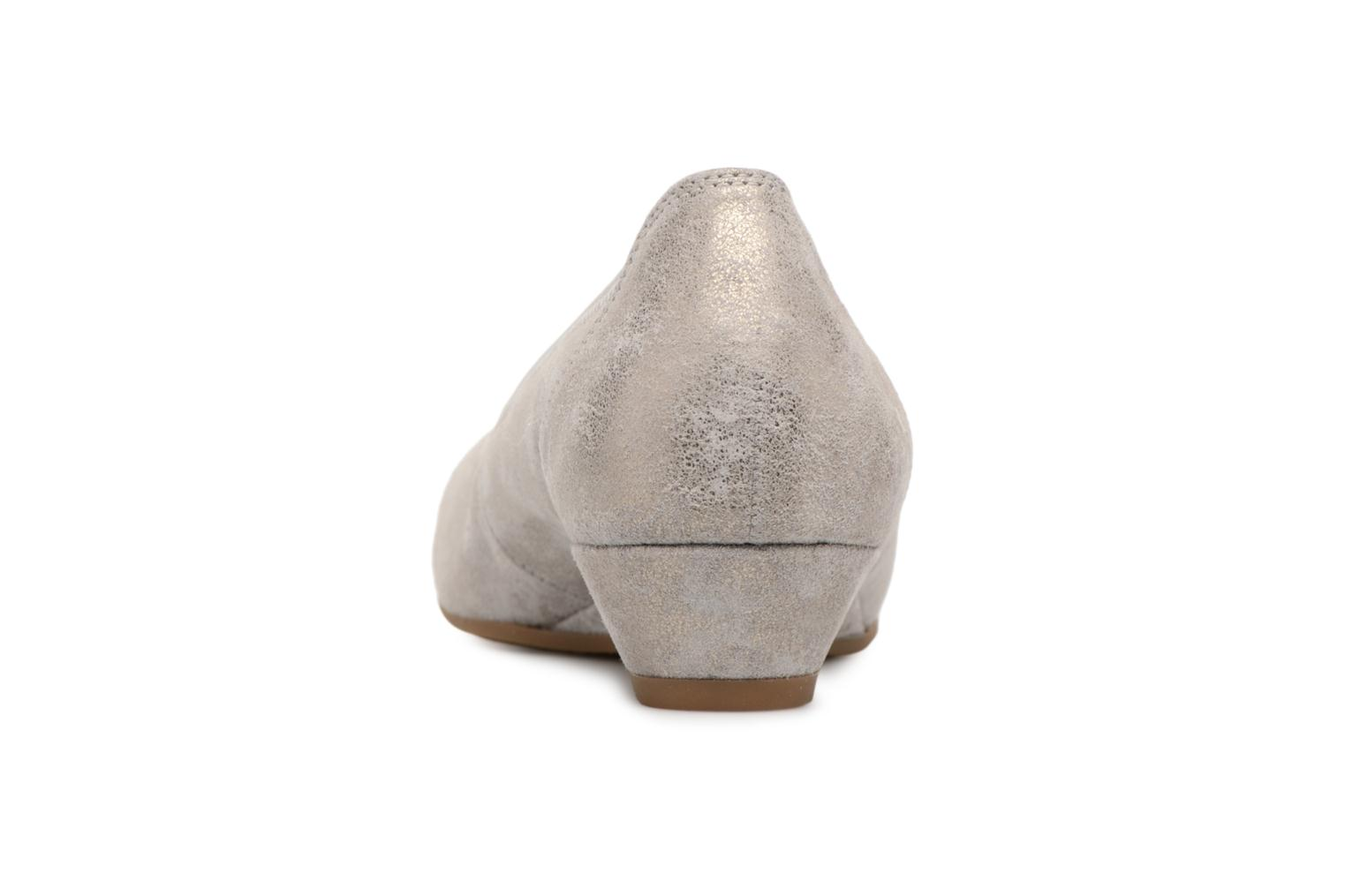 Ballet pumps Gabor Solari Silver view from the right