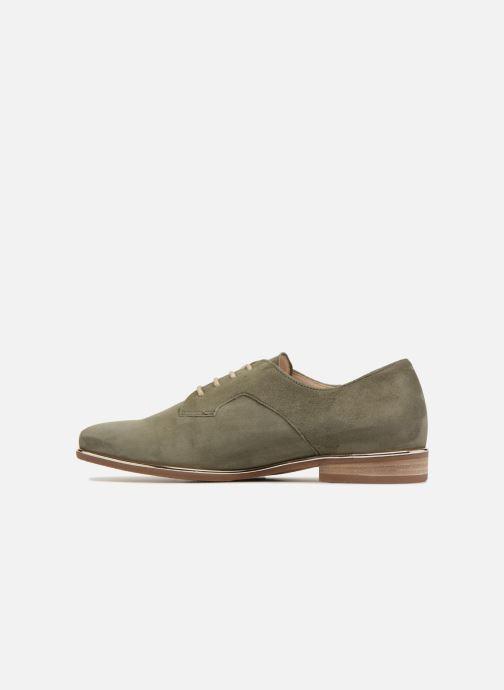 Zapatos con cordones Gabor Arabella Verde vista de frente