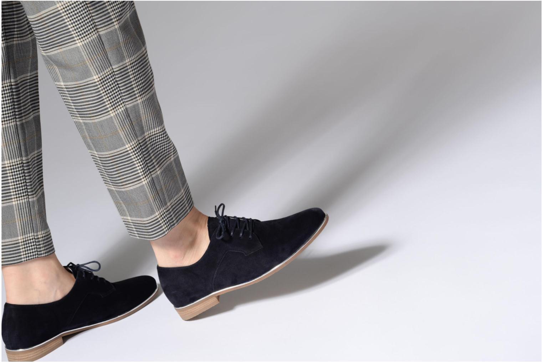 Chaussures à lacets Gabor Arabella Bleu vue bas / vue portée sac