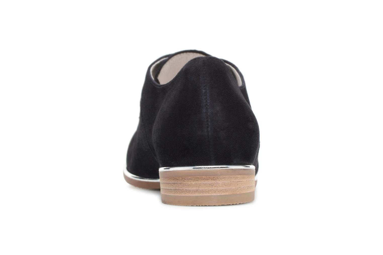 Chaussures à lacets Gabor Arabella Bleu vue droite