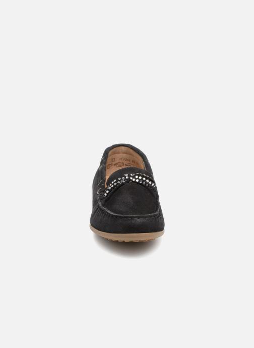 Mocassins Gabor Genova Bleu vue portées chaussures
