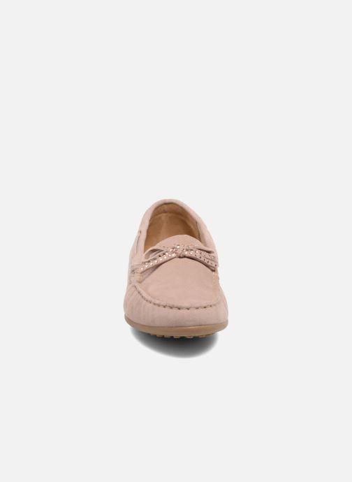 Mocassins Gabor Genova Rose vue portées chaussures