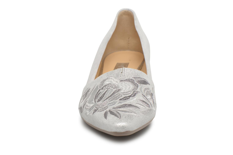 Escarpins Gabor Juno Argent vue portées chaussures
