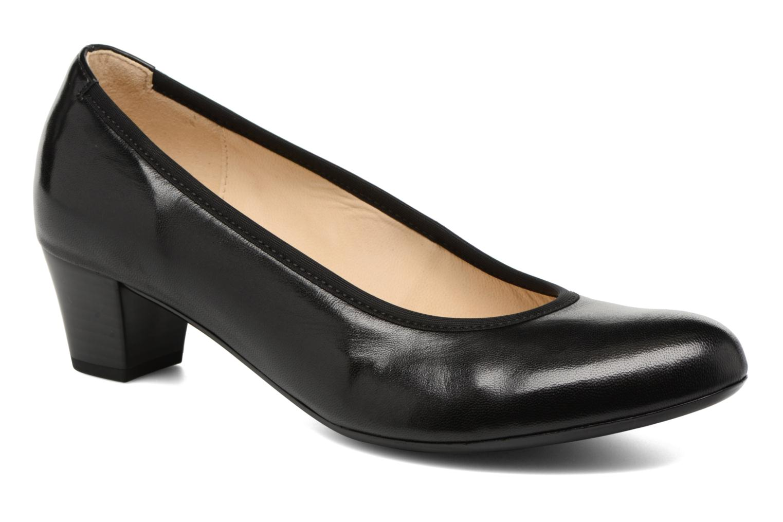 High heels Gabor Ivanna Black detailed view/ Pair view
