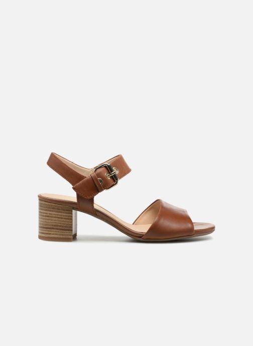 Sandales et nu-pieds Gabor Sandra Marron vue derrière