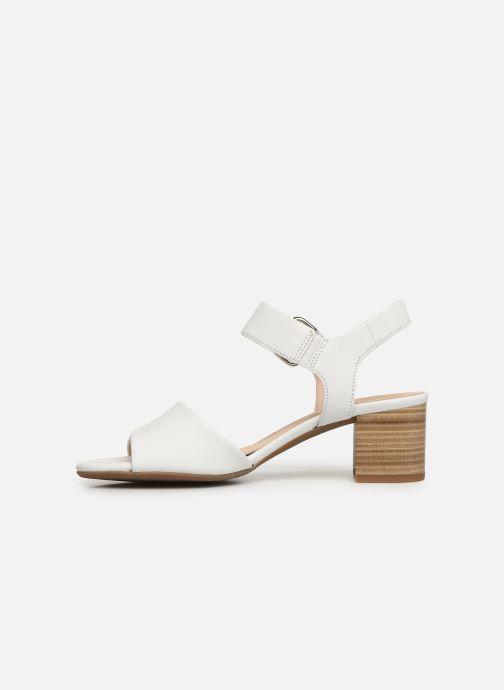 Sandales et nu-pieds Gabor Sandra Blanc vue face