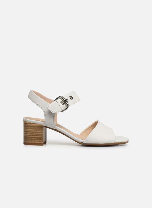 Sandales et nu-pieds Gabor Sandra Blanc vue derrière