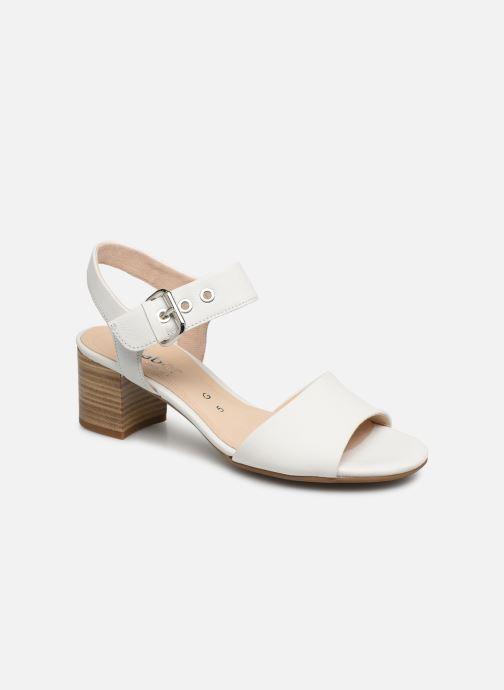 Sandales et nu-pieds Gabor Sandra Blanc vue détail/paire