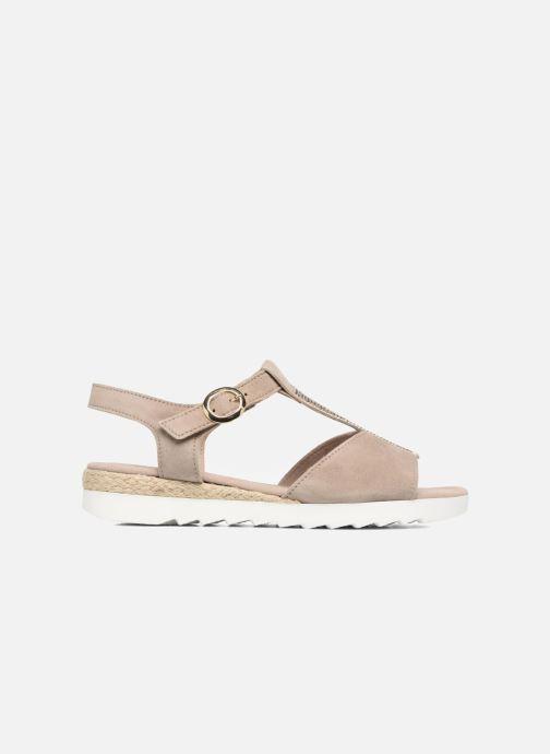 Sandales et nu-pieds Gabor Elorri Beige vue derrière