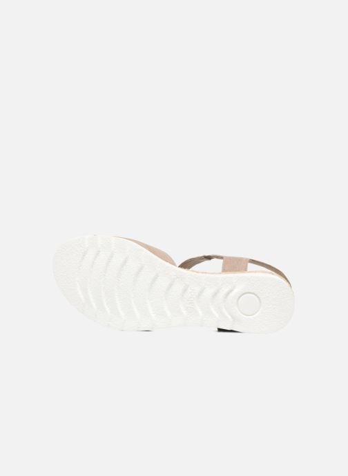 Sandales et nu-pieds Gabor Elorri Beige vue haut