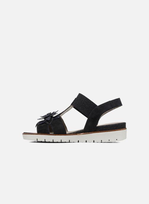 Sandales et nu-pieds Gabor Heylie Bleu vue face